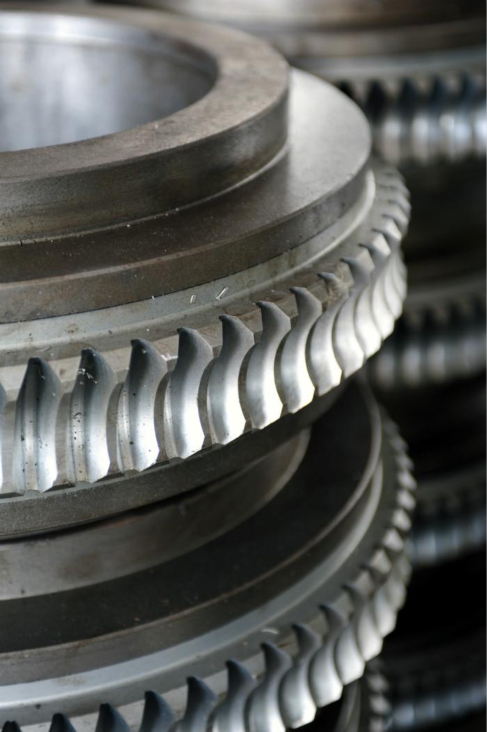 双金属涡轮