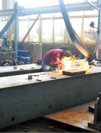 氩弧焊埋弧焊二保焊接工位